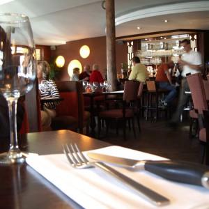 belebtes Restaurant